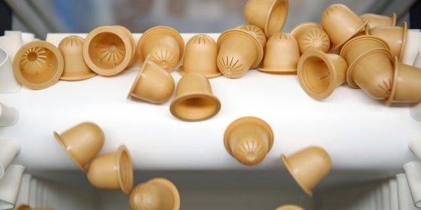 Végéplast fabrique des capsules adaptables aux machines Nespresso
