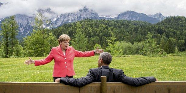 Les Grecs vont devoir faire des choix politiques difficiles qui seront bons pour eux sur le long terme, a souligné le président américain Barack Obama - Angela Merkel insistant, elle, sur le fait qu'il ne reste plus beaucoup de temps.
