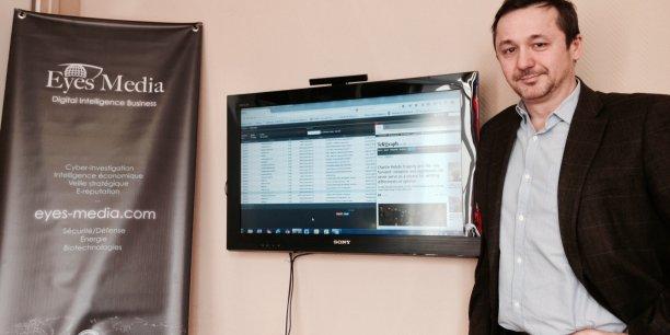 Christophe Amande, fondateur et dirigeant d'Eyes Media.