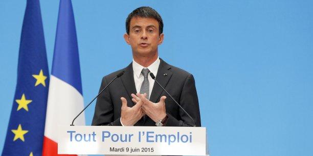 Avec son plan en faveur des TPE et des PME, Manuel Valls espère relancer l'emploi