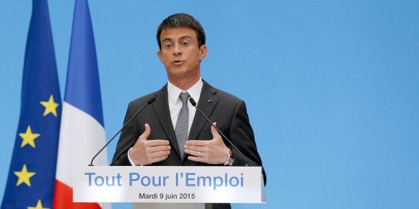 Manuel Valls a présenté un plan en faveur de l'emploi dans les PME qui fait sauter plusieurs verrous du code du travail