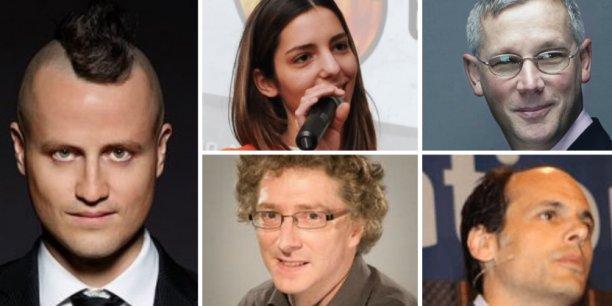 Jack Lodwick, Clémence Wurtz, Didier Pasmonik, Guillaume Meulle et Raphaël Krivine