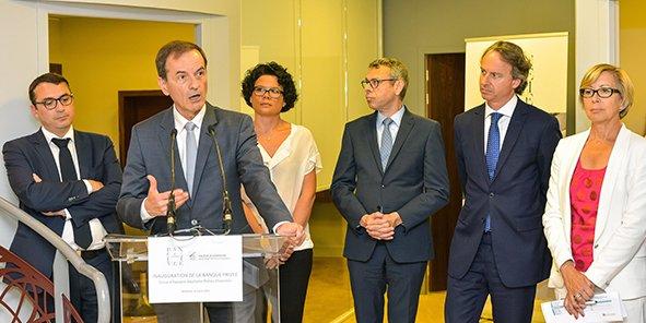 Au premier plan, Jean-François Paillissé, président du directoire de la CEAPC