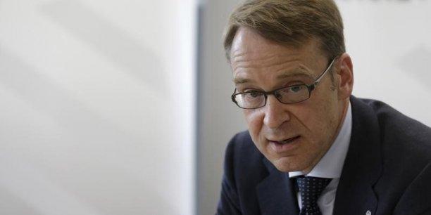 Le président de la Bundesbank, Jens Weidmann, défend la politique de Mario Draghi.