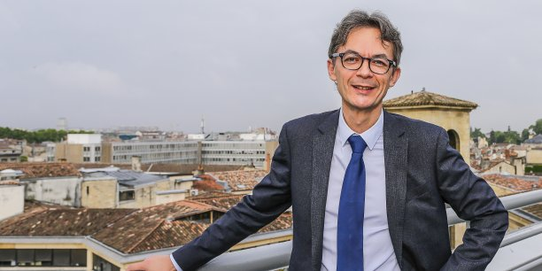 Luc Paboeuf, président du Ceser Aquitaine