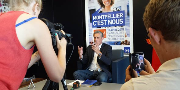 Philippe Saurel a insisté sur la démarche hors parti qui est la sienne