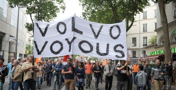Manifestation des salariés de Renault Trucks à Lyon en juin dernier