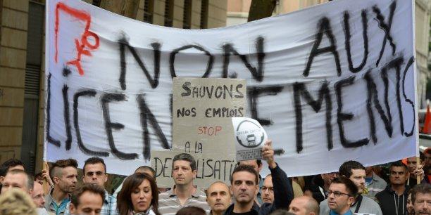 Image d'illustration lors des manifestations organisées lors des deux premiers PSE.