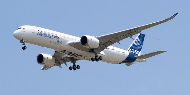 A350 : Airbus alerté sur un risque d'explosion de l'appareil