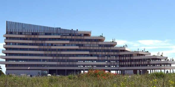 Le Liner, bâtiment-phare du projet Ode à la Mer à Montpellier.