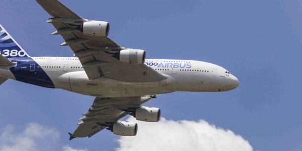 Airbus réduit les cadences de production sur l'A380.