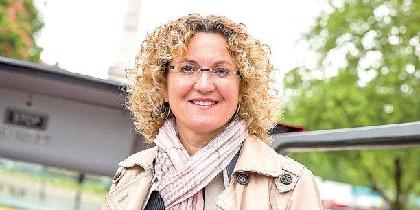 Odile Candessanche, présidente du CJD Bordeaux
