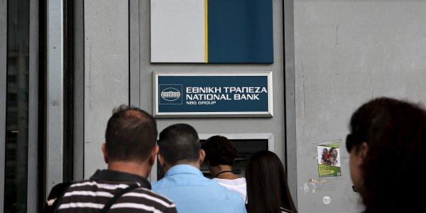Les banques seront fermées pendant une semaine en Grèce.
