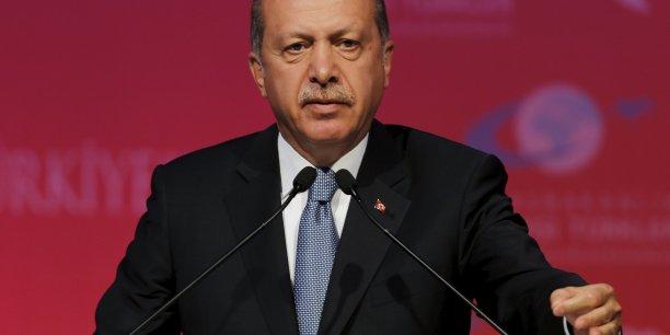 La Turquie a accueilli 2,2 millions de réfugiés syriens depuis le début du conflit en mars 2011, rappelle Recep Tayyip Erdoğan.