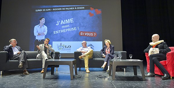 Xavier Fontanet, Julien Leclercq, Alain Tesson, Virginie Calmels, Calixte de Nigremont