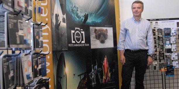 Filiale européenne de l'américain PNY Technologies Inc., PNY Technologies Europe est pilotée à Mérignac par Jérôme Belan