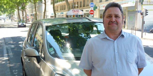 Pascal Wilder, président de la Fédération des taxis indépendants du Rhône et secrétaire général de la Fédération nationale