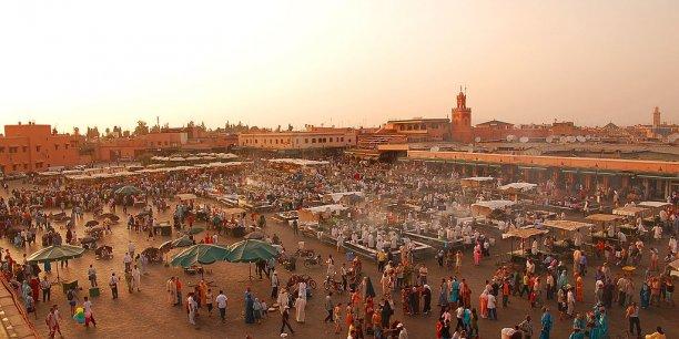 Le Maroc ne ferait plus partie des cinq destinations préférées des vacanciers français, selon le site d'informations Medias 24. Ci-dessus, la fameuse place Jemaa el fna, à Marrakech.
