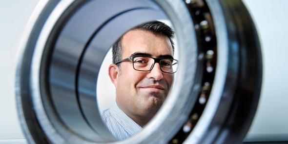 Laurent Condomines, directeur du site de NTN-SNR