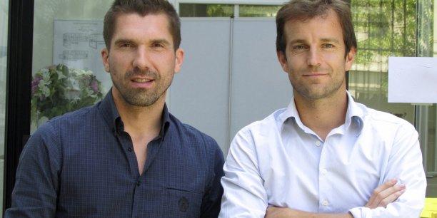 Pierre Aïdan (à gauche) et Timothée Rambaud, deux des fondateurs de Legalstart.