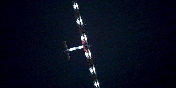 André Borschberg, pilote du Solar Impulse 2, est seul dans la cabine non pressurisée de 3,8 m3.