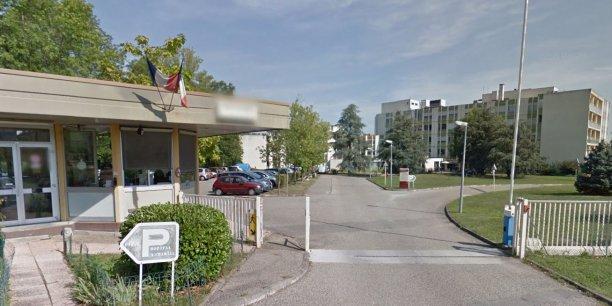L'hôpital gériatrique Antoine Charial à Francheville