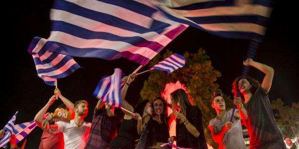 Ce non ne signifie pas une rupture avec l'Europe mais le renforcement de notre pouvoir de négociation avec les créanciers, UE et FMI, a réagi dimanche soir le Premier ministre grec Alexis Tsipras.