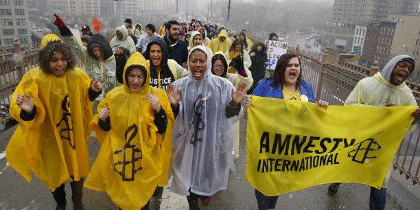 Amnesty International et d'autres ONG ont porté plainte contre le gouvernement britannique.