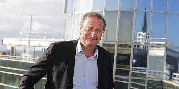 Daniel Desage, président de TCS, la société bordelaise qui s'est spécialisée dans le transport, régulier, de plis et petits colis