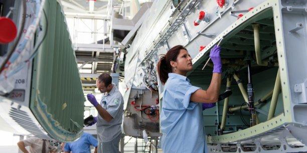 La montée en puissance du site de Dassault à Mérignac illustre l'impact positif de la croissance de l'aéronautique sur la métallurgie en Aquitaine.