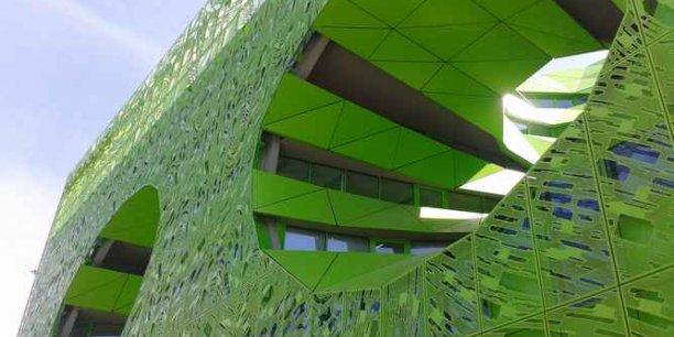 Le futur siège d'Euronews à Lyon-Confluence