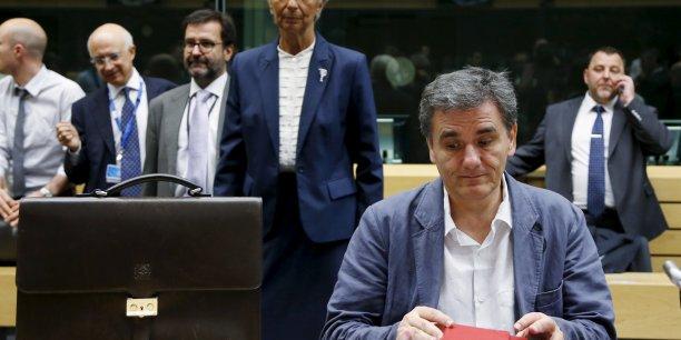 Euclide Tsakalotos, ministre des Finances grec, n'a pas réussi à décider la BCE à aider son pays.