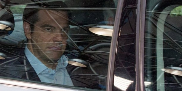 Alexis Tsipras, Premier ministre de la Grèce.