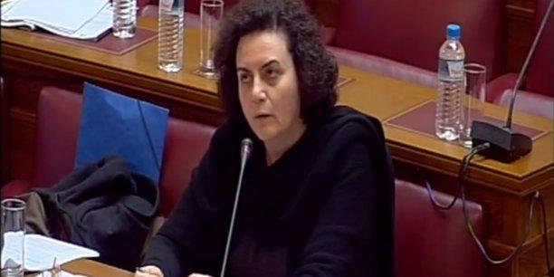 La démission de Nadia Valavani survient quelques heures avant que le Parlement se prononce sur le train de réformes prévu dans le cadre de l'accord passé avec les créanciers.