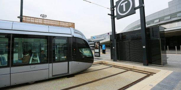 Depuis le 11 avril, le tramway dessert l'aéroport de Toulouse