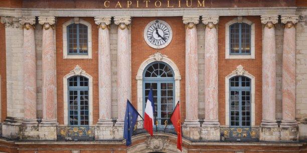 Le Capitole, siège de la mairie de Toulouse.