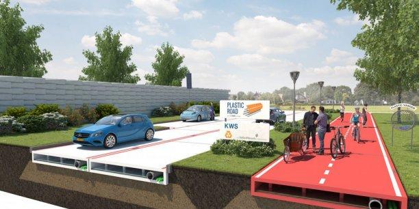Avec une durée de vie estimée à 50 ans, les routes en plastique recyclé seraient moins affectées par la corrosion et nécessiteraient un moindre entretien.