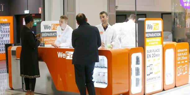 D'après WeFix, le ticket moyen pour une réparation est de 60 euros.