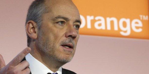 Stéphane Richard, le PDG d'Orange, souhaite réaliser un chiffre d'affaires de 600 millions d'euros dans l'Internet des objets d'ici à 2018.