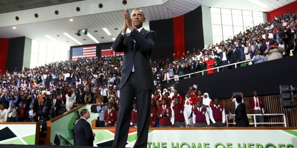 Barack Obama a effectué un voyage de deux jours dans le pays de ses ancêtres paternels.