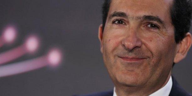 Patrick Drahi, le chef de file d'Altice, la maison-mère de Numericable-SFR.