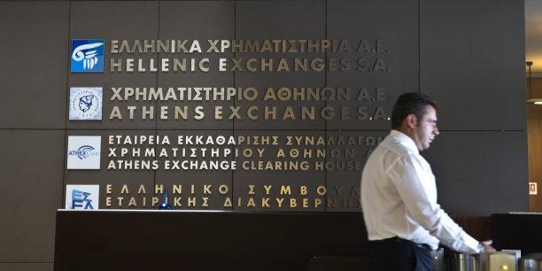 La Bourse d'Athènes est fermée depuis le 29 juin, une disposition mise en oeuvre par le gouvernement parallèlement à la fermeture des banques et à l'instauration de mesures de contrôle des capitaux.