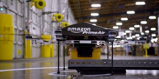 Le centre de recherche, installé à Clichy, héberge une douzaine d'ingénieurs, chargés de créer un logiciel de gestion du trafic dédié à Prime Air, le programme de livraison par drones en 30 minutes chrono, qui fait partie des grands projets du Pdg Jeff Bezos.