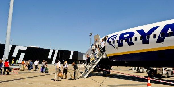 Ryanair dessert Bordeaux via le terminal dédié aux compagnies à bas coûts Ryanair