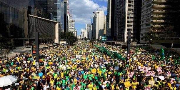 Manifestation à Rio contre la vie chère