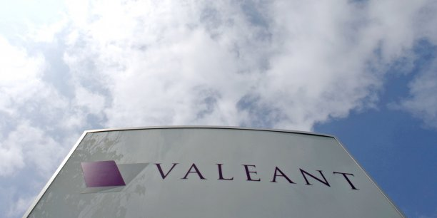 La biotech canadienne Valeant chutait encore de 4,81% en Bourse, lundi.