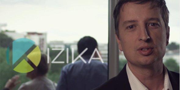Pierre Aulagne, président et cofondateur d'Izika, lance la version définitive d'un logiciel de gestion automatique des déplacements professionnels.