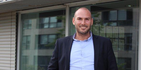 Thibault Detender, président fondateur de la start-up Affily One.
