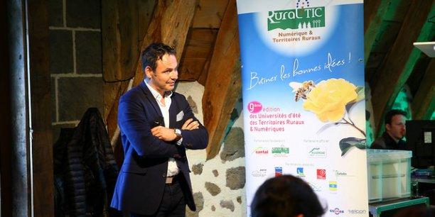 Sébastien Côte est le président de Ruralitic