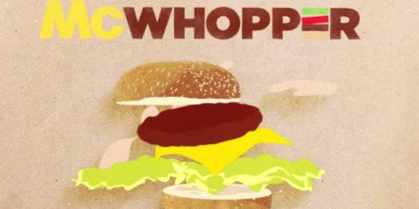 Le McWhopper sera uniquement vendu à Atlanta.